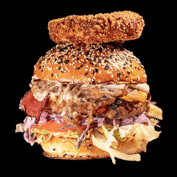 Texas Mad Cow Burger