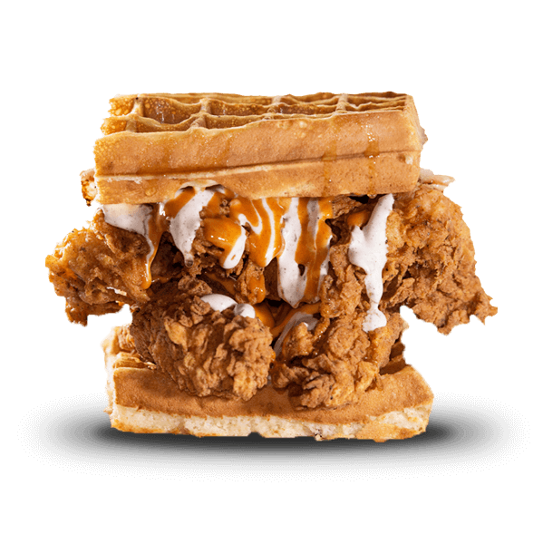 The Chicken Waffles Sandwich