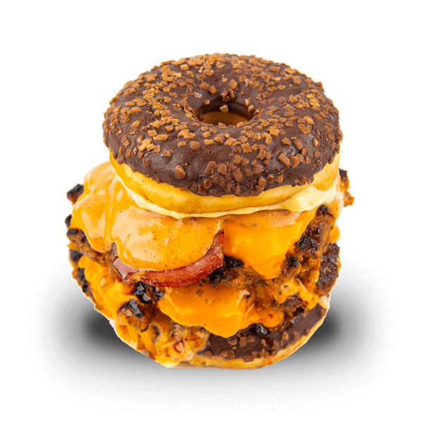 The double O.G. donut burgr