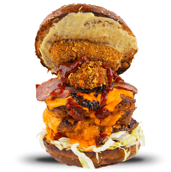 The triple coronary bypass burgr