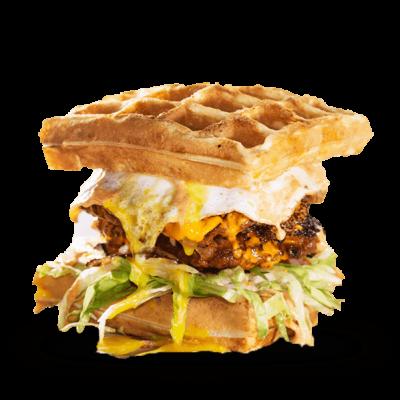 The waffle resurection burgr