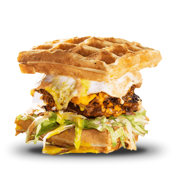 The Waffle Resurection Burgr